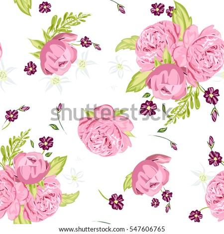 elegance seamless floral
