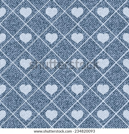 Elegance vector seamless pattern with denim jeans background #234820093