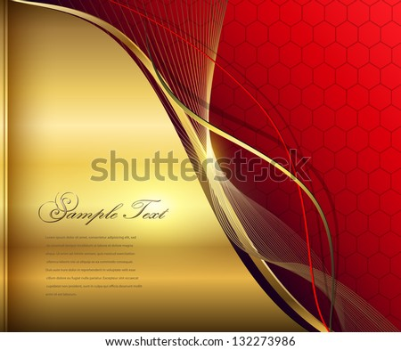 stock-vector-elegant-abstract-background-red-and-gold