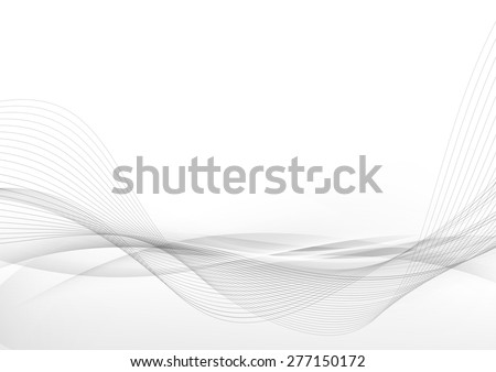elegant abstract smooth swoosh