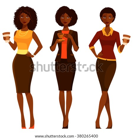 elegant african american women