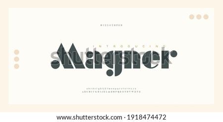 Elegant alphabet letters font and number. Classic Lettering Minimal Fashion Designs. Typography luxury modern serif fonts regular decorative vintage concept. vector illustration