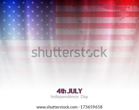 elegant american flag theme