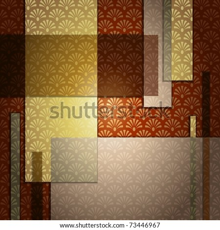 Elegant Art Deco Background (EPS10); jpg version also available