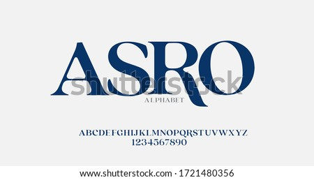 Elegant awesome alphabet letters font and number. unique serif font. Classic Lettering Fashion Designs. Typography fonts regular uppercase. vector illustration