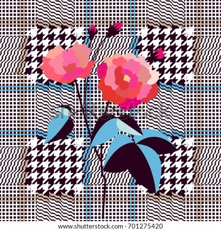elegant checkered english