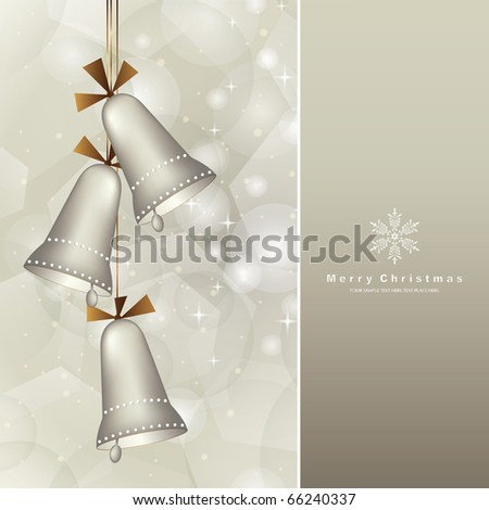 elegant christmas background with baubles
