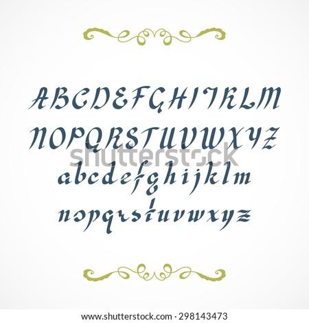 Trace Cursive Font Elegant Cursive Font Not Auto