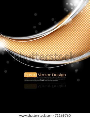 elegant design in eps10 vector format