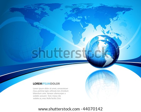 earth globe clip art. Earth Globe Icon and Map