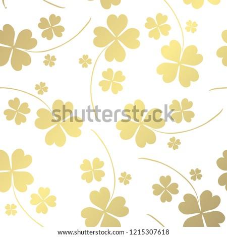 elegant golden pattern with