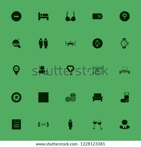 elegant icon. elegant vector icons set tv table, white bow tie, sock and dining table restaurant