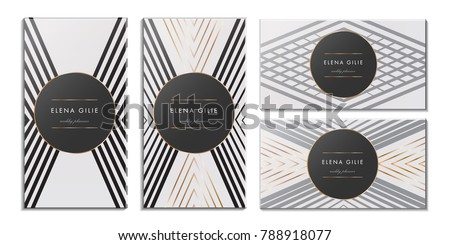 Elegant Luxury Background with Gold Dust & Place for Text. Particles Background. Vector illustration
