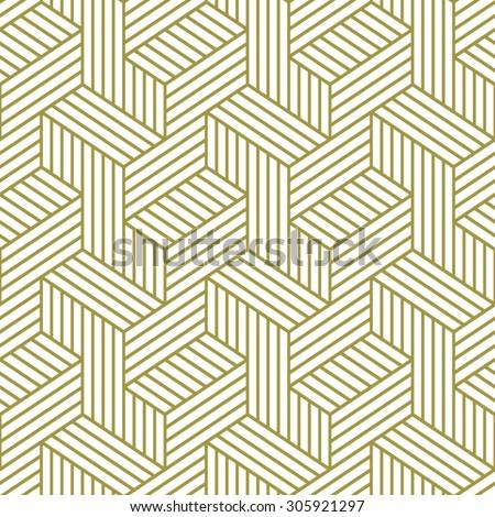 Elegant pattern. Golden pattern. Seamless vector pattern.