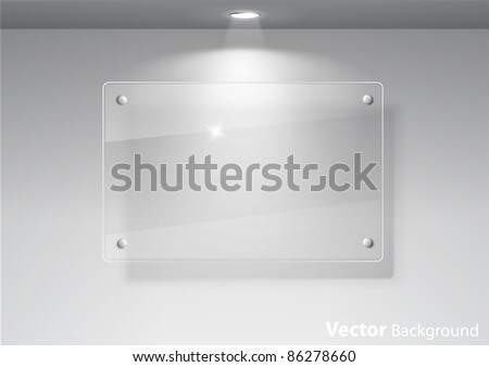 gallery interior picture frame with lights - Download Free Vector ...