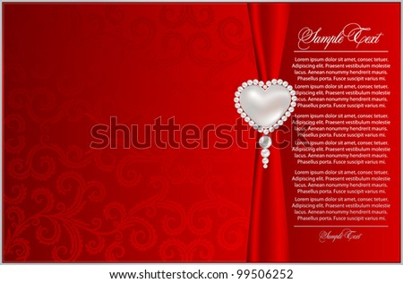 Elegant red  background