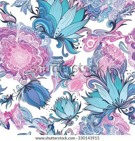 elegant romantic vector floral