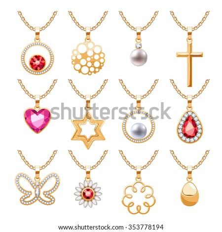 elegant rubies gemstones vector