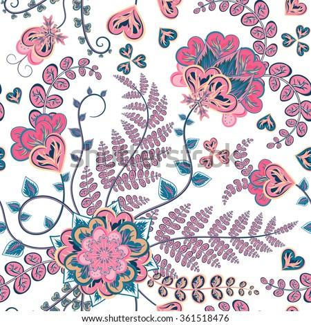 elegant seamless pattern with
