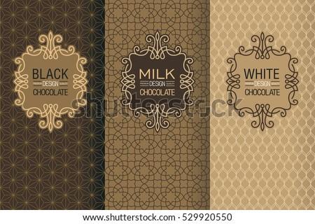 elegant set of design elements