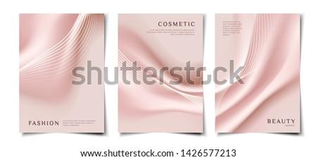 elegant smooth silk fabric