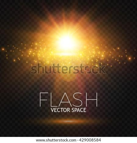 elegant transparent flash