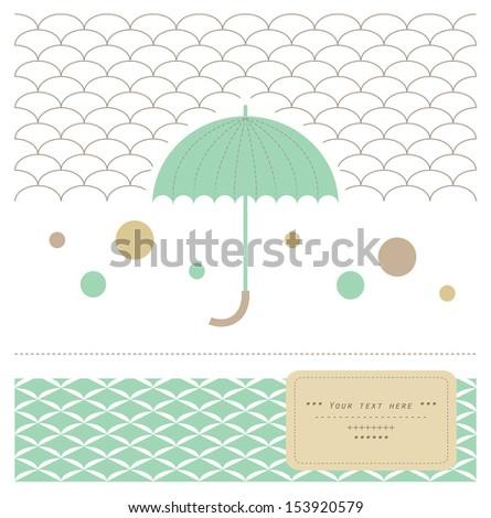 elegant umbrella minimalistic