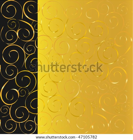 Cool Black And Gold Backgrounds. lack and gold background
