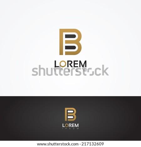 elegant vector graphic alphabet