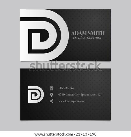elegant vector graphic business