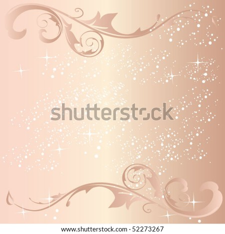 stock vector elegant wedding invitation card
