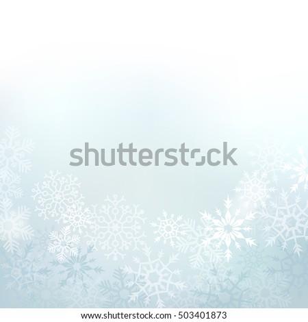 elegant winter background made