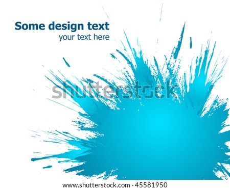 Elegants paint splash background with place for your text.