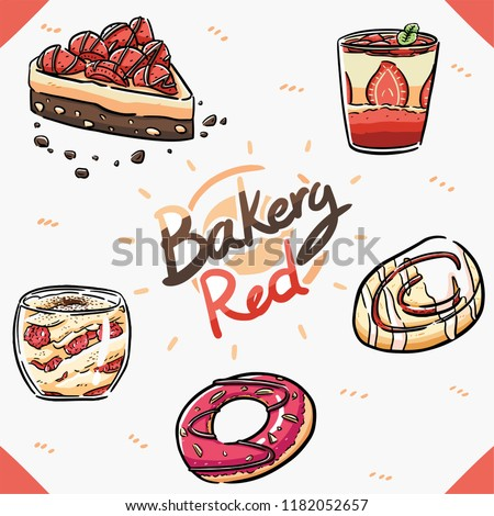 element bakery theme red