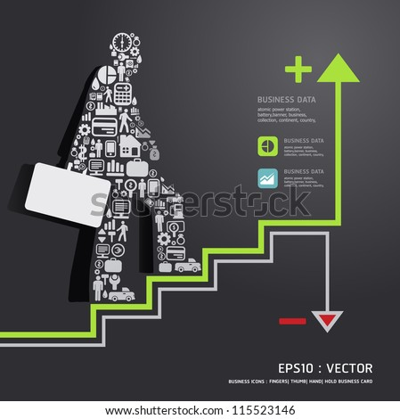 Elements are small icons Finance make in businessman concept .Vector illustration.