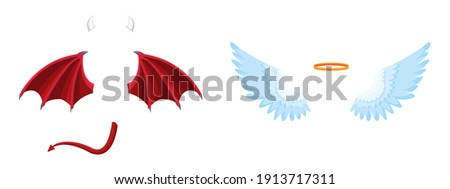 elements of the angel and devil