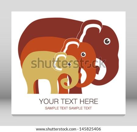 elephant family unit