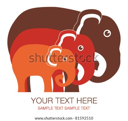 elephant family unit