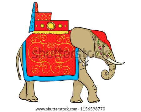 elephant in india  a sacred