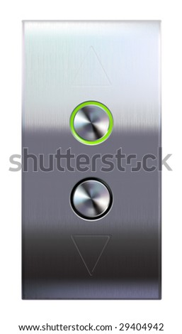 Elevator buttons  (#4 of 4) • Find more elevator panels  in my portfolio •