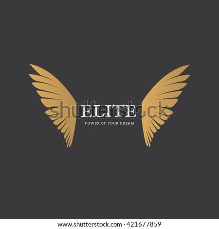 elite wing logo freedom logo