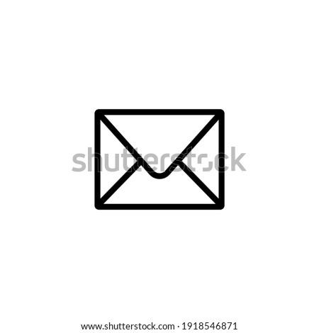 Email envelope icon symbol vector illustration