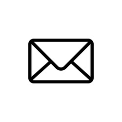 Email envelope icon vector illustration