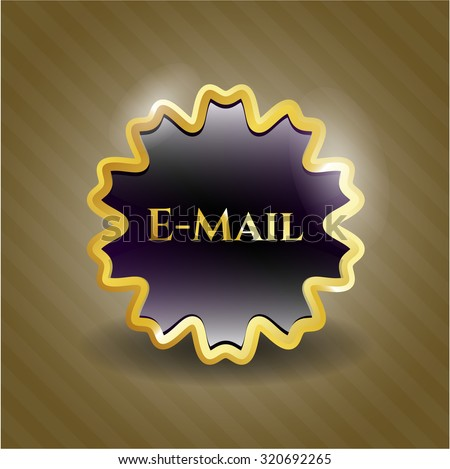 Email golden badge