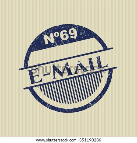 Email grunge stamp