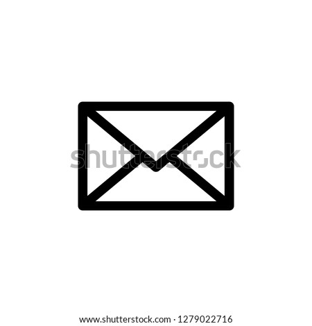 Email icon vector. E-mail icon. Envelope illustration. Message. Mail