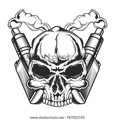 emblem design with illustration