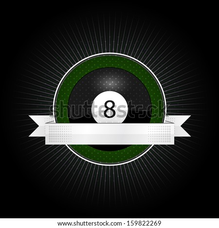 emblem for the billiard with