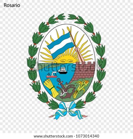 emblem of rosario city of