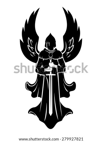 emblem of the archangel with